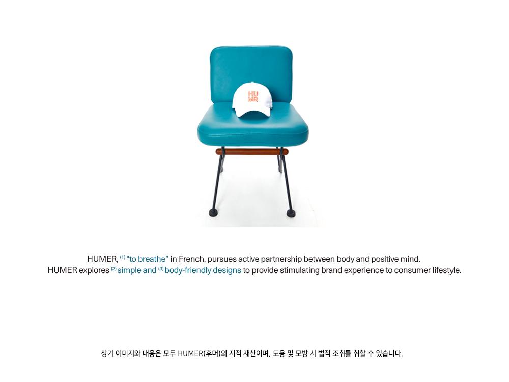 후머(HUMER) MW Cube Embroidery Cap_PINK (HMD1)